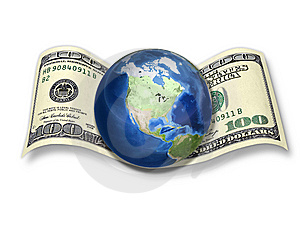 Dollar - The Currency Of The World! Stock Image - Image: 14346001