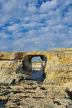 Azure Window Royalty Free Stock Photos - Image: 14346528