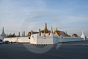 The Temple Of The Emerald Buddha Stock Photography - Image: 14347322