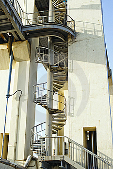 Spiral Stairs Stock Images - Image: 14349594