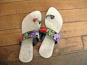 Indian Designer Footwear Royalty Free Stock Image - Image: 14349686