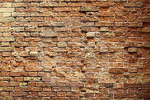 Venetian Brick Wall Stock Image - Image: 14350551