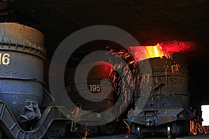Steel Making Royalty Free Stock Images - Image: 14350859