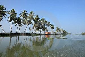 Backwaters Of Kerala Royalty Free Stock Images - Image: 14352769
