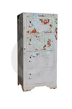Old Rusty Safe Stock Photo - Image: 14352820