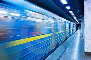 Subway Station Stock Image - Image: 14355361
