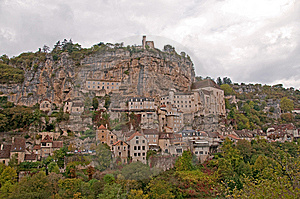 Rocamadour - Village Royalty Free Stock Photography - Image: 14356837