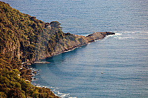 Promontory Overlooking The Sea Stock Photography - Image: 14357672