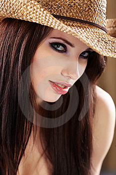 Country Woman Stock Image - Image: 14357821