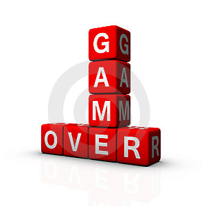 Game Over Stock Photography - Image: 14357872