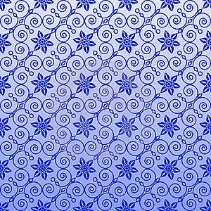 Seamless Ornamental Wallpaper Royalty Free Stock Photos - Image: 14358358