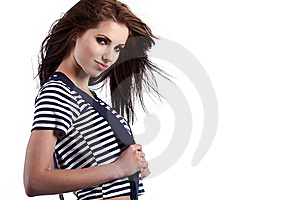 Smiling Young Woman Stock Photography - Image: 14358422
