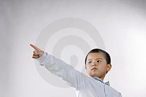 Child Touch Royalty Free Stock Photos - Image: 14360848