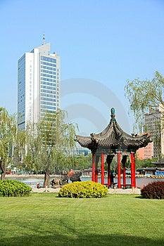 Park Scenery Royalty Free Stock Photo - Image: 14360955