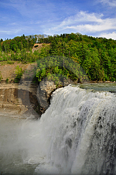 Massive Falls Stock Photography - Image: 14362512