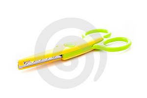 Scissors Isolated Royalty Free Stock Photo - Image: 14367335
