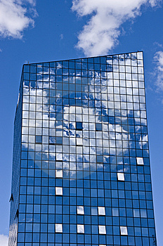 Glass Tower Stock Photography - Image: 14367352