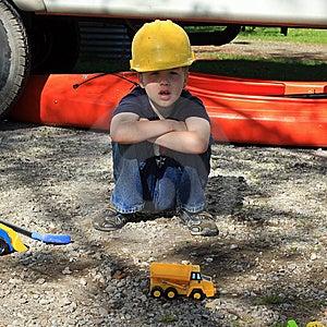 Hard Hat Boy Stock Images - Image: 14367404