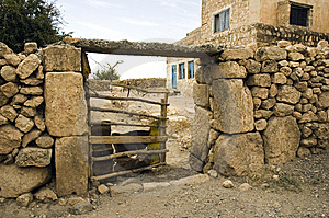 Rural Farm Gate Royalty Free Stock Images - Image: 14368459