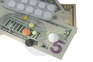 High Cost Of Medicine Royalty Free Stock Photos - Image: 14368638