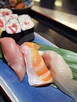 Assorted Sushi Platter Stock Image - Image: 14368921