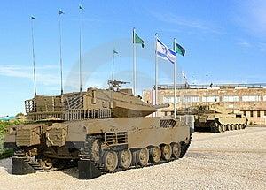 Merkava - Israëlische Gevechtstanks. Royalty-vrije Stock Foto - Afbeelding: 14369385