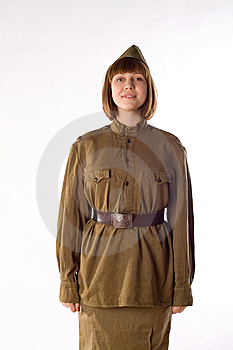 Studio Portrait Of Soldier Royalty Free Stock Image - Image: 14369746