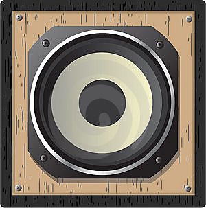 Illustration Of  Loudspeaker Stock Photos - Image: 14369843