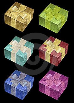 Gift Box Vector Royalty Free Stock Image - Image: 14372226