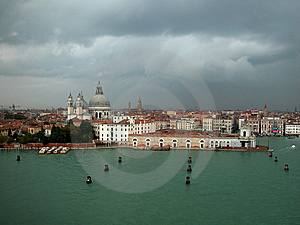 Venecian City And Waterways Stock Photography - Image: 14372372