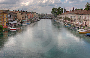 Italian Town Royalty Free Stock Image - Image: 14375026