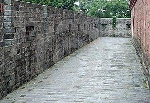 Protective Walls Royalty Free Stock Image - Image: 14375056