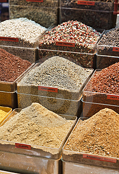 Turkey, Istanbul, Spice Bazaar Royalty Free Stock Images - Image: 14375389
