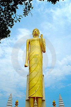 Thai Temple In Roi Et Province Royalty Free Stock Photography - Image: 14381377