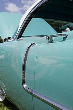 Classic Retro Car Stock Photography - Image: 14382752