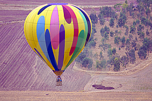 Hot Air Balloon Royalty Free Stock Image - Image: 14383036