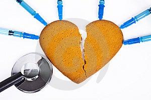 Broken Heart Royalty Free Stock Image - Image: 14384076