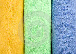 Coloured Towels Stock Image - Image: 14384521