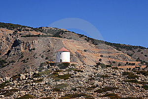 View On A Mill, Greece Stock Images - Image: 14385254