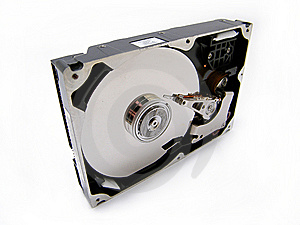 Hard Disc Head Stock Photo - Image: 14385290