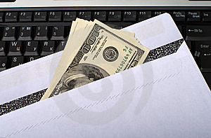 Money And Notebook. Stock Photography - Image: 14387792