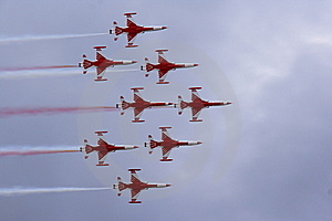 Aerobatics Team Stock Image - Image: 14388611