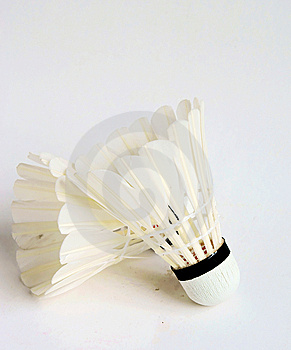 White Badminton Shuttlecocks Royalty Free Stock Images - Image: 14389519