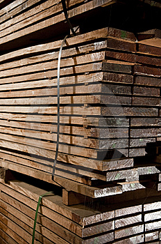 Stacks Of Hardwood Stock Photos - Image: 14390423
