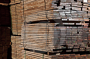 Stacks Of Hardwood Stock Images - Image: 14390434