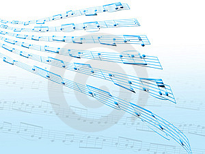 Distorted Sheet Music Royalty Free Stock Photo - Image: 14392575