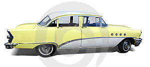 Retro Car Royalty Free Stock Photos - Image: 14392788