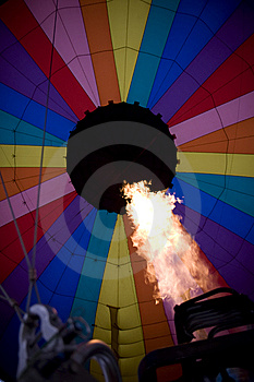 Hot Air Balloon Royalty Free Stock Image - Image: 14394766