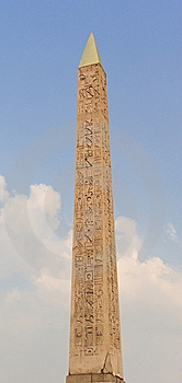 Obelisk Of Luxor, Paris Royalty Free Stock Photos - Image: 14395548