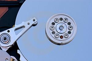 Macro Del Drive Del Hard Disk Fotografia Stock Libera da Diritti - Immagine: 1441437